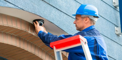 security camera system installation