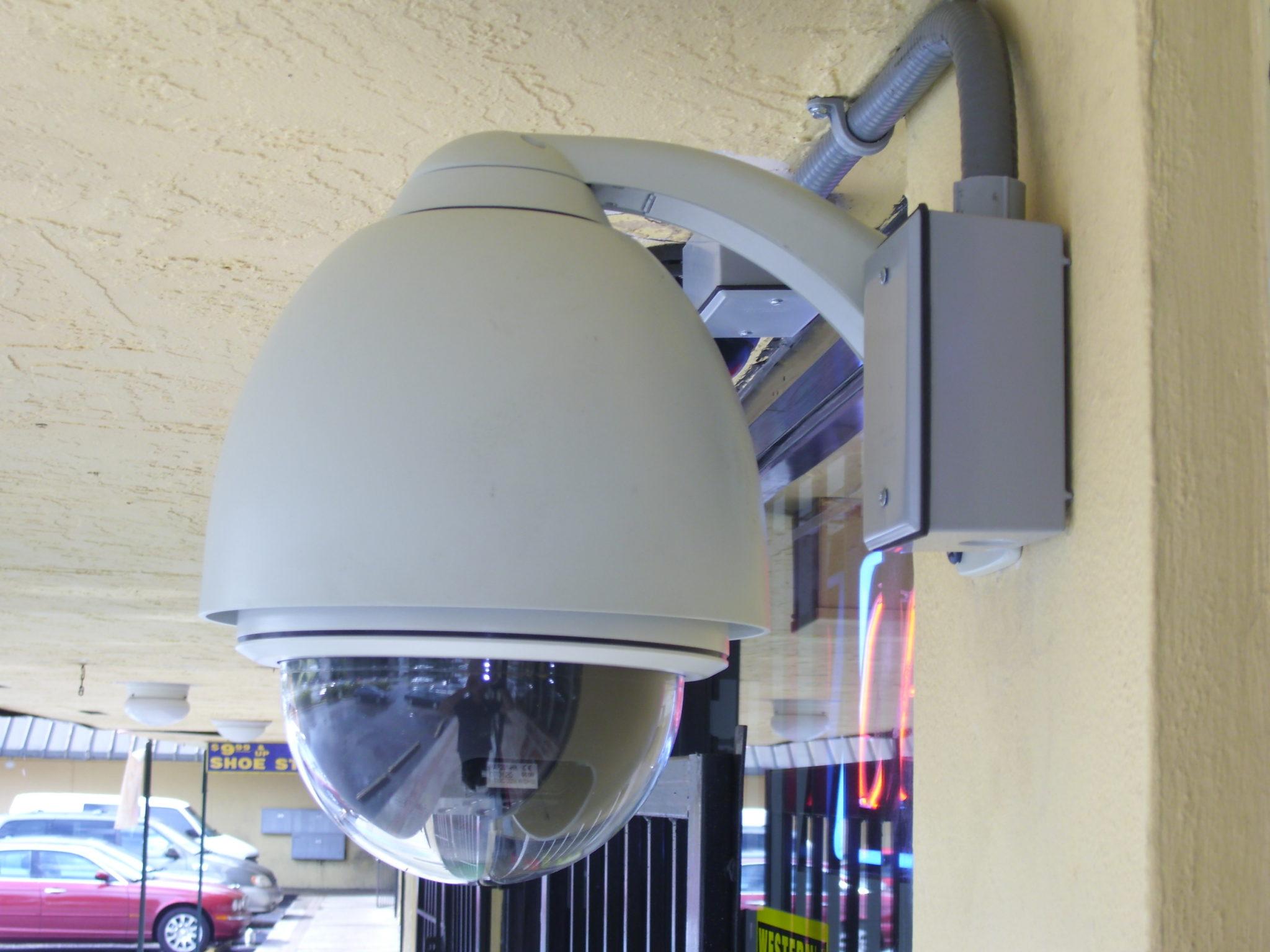 PTZ Speed Dome Camera Installation | Hi Tech Security: Security ...