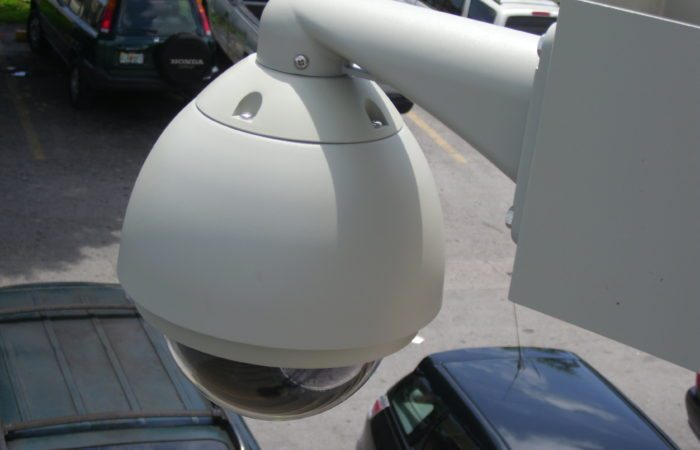 ptz security camera installation