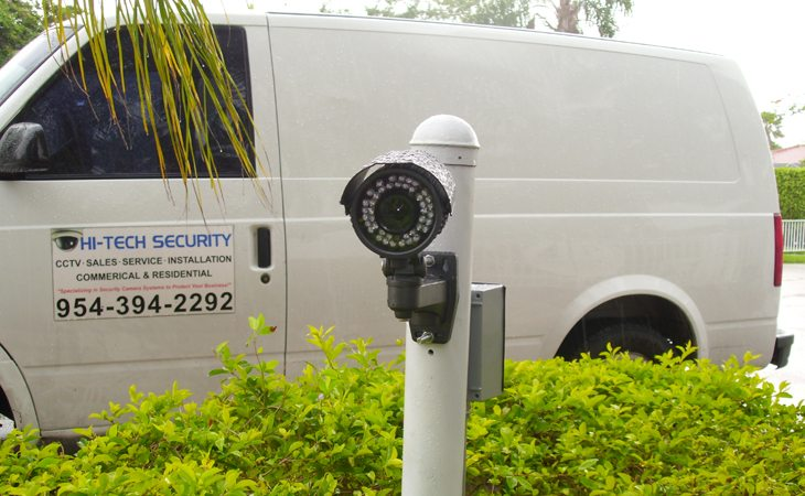 licence plate installation camera