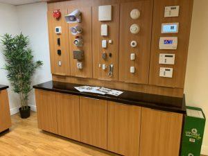 Burglar Alarm System Showroom