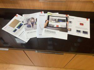 Honeywell Burglar Alarm System Brochures